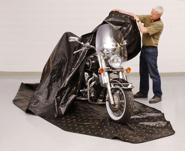 Motorcycle Cover Rust Prevention