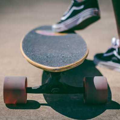 skateboard rust